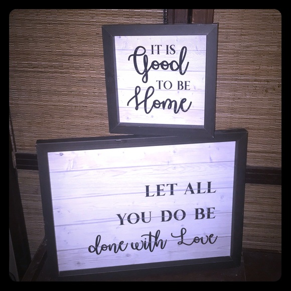 Accents wall sign decor poshmark for D sign shop